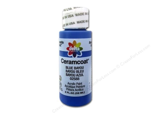 Ceramcoat Acrylic Paint by Delta 2 oz. #2588 Blue Bayou