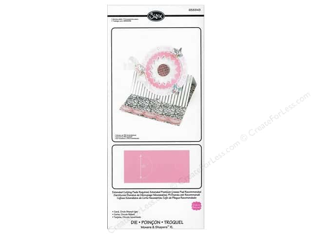 Sizzix  Movers & Shapers Die XL Stand Ups Circle by Stephanie Barnard