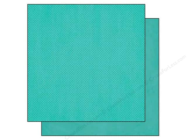 Bo Bunny 12 x 12 in. Paper Double Dot Collection New Caribbean (25 sheets)