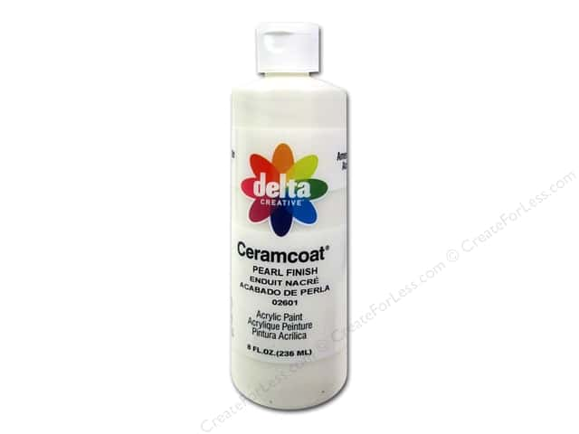 Delta Ceramcoat Acrylic Paint 8 oz. #2601 Pearl Finish