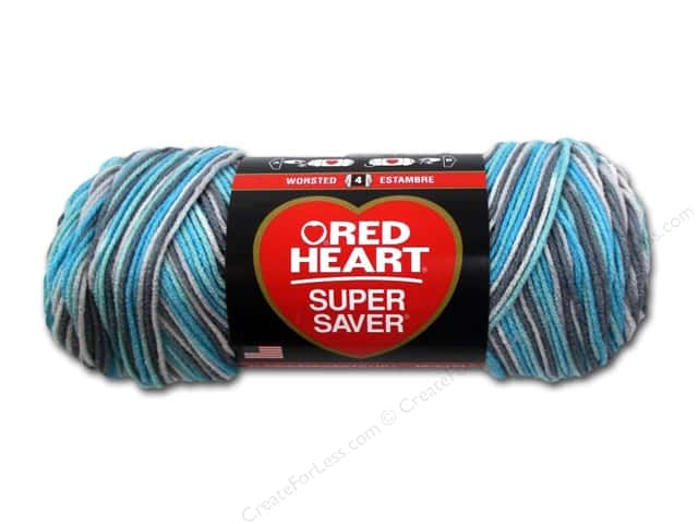 Red Heart Super Saver Yarn 236 yd. #3952 Icelandic