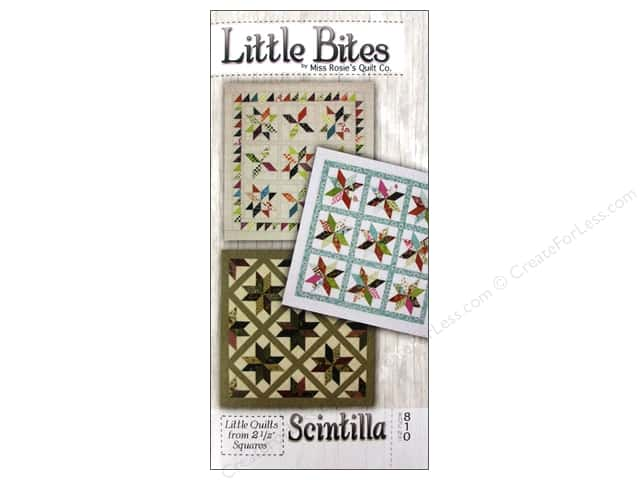Miss Rosie's Quilt Co. Little Bites Scintilla Pattern