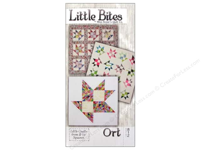 Miss Rosie's Quilt Co. Little Bites Ort Pattern