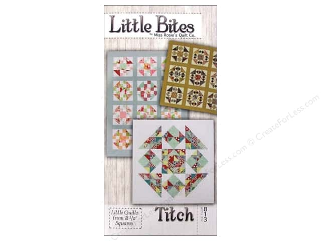 Miss Rosie's Quilt Co. Little Bites Titch Pattern