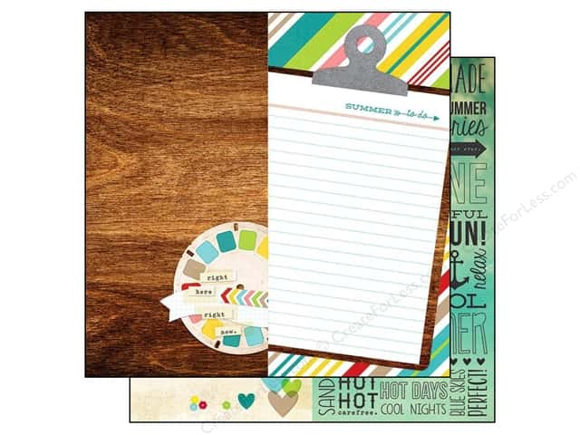 Simple Stories 12 x 12 in. Paper Good Day Sunshine Page Elements (25 sheets)