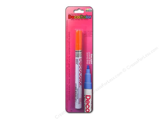 Uchida Decocolor Paint Marker - Fine Tip - Orange