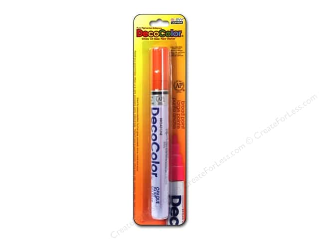 Uchida DecoColor Opaque Paint Marker Broad Point Orange