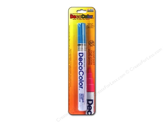 Uchida DecoColor Opaque Paint Marker Broad Point Light Blue