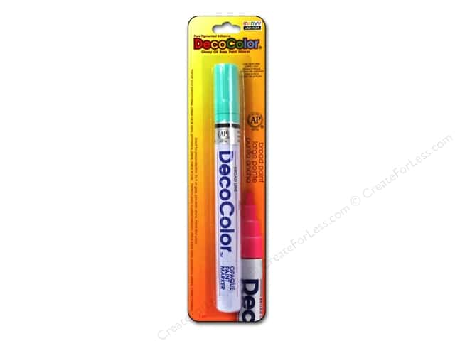 Uchida DecoColor Opaque Paint Marker Broad Point Peppermint