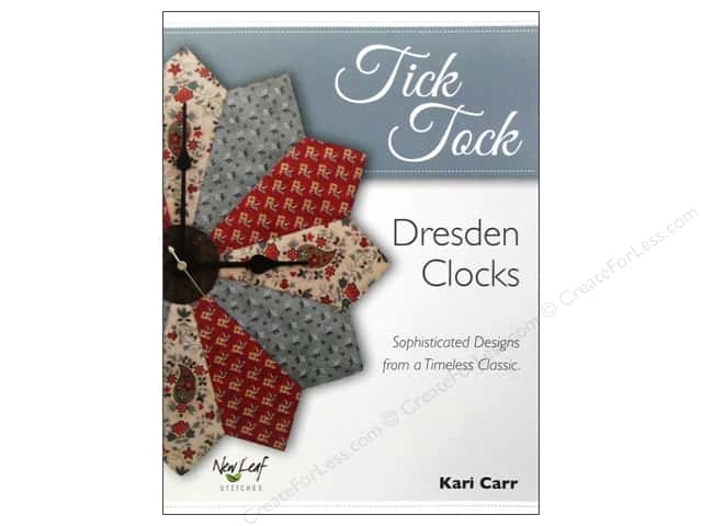 New Leaf Stitches Tick Tock Book