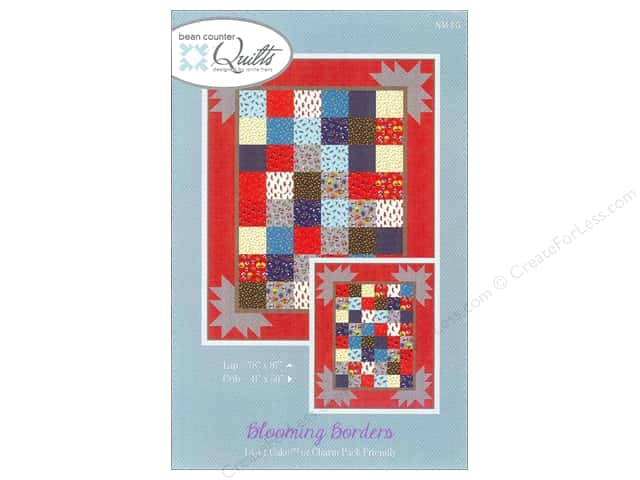 Bean Counter Quilts Blooming Borders Pattern
