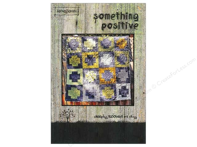 Villa Rosa Designs Homegrown Something Positive Pattern Card