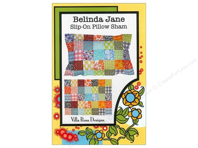 Villa Rosa Designs Belinda Jane Slip-On Pillow Sham Pattern Card