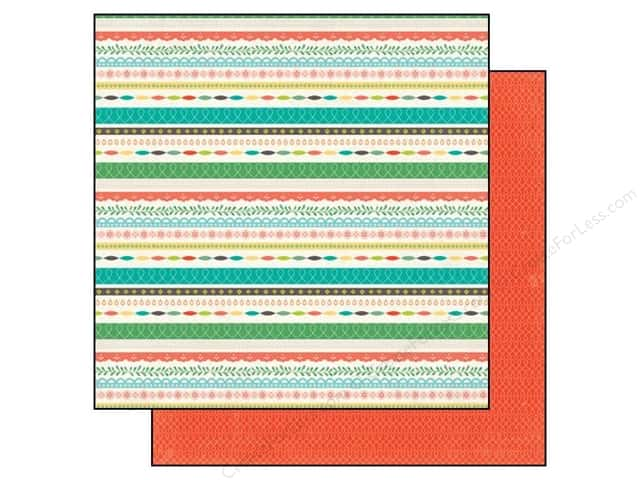 Echo Park 12 x 12 in. Paper Simple Life Collection Noteworthy (25 sheets)