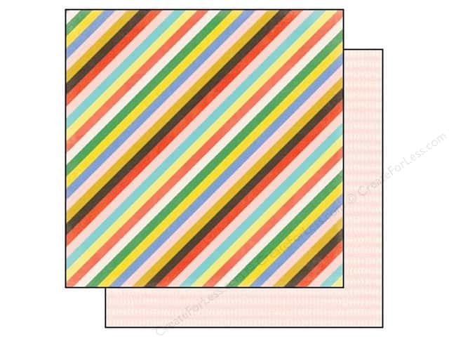 Echo Park 12 x 12 in. Paper Simple Life Collection Simple Stripes (25 sheets)