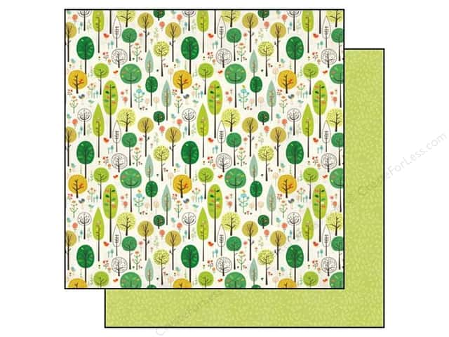 Echo Park 12 x 12 in. Paper Simple Life Fancy Forest (25 sheets)