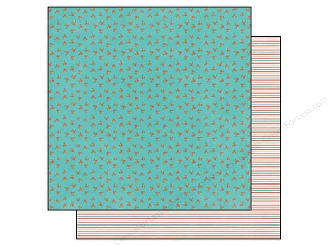 Echo Park 12 x 12 in. Paper Simple Life Collection Rose Buds (25 sheets)
