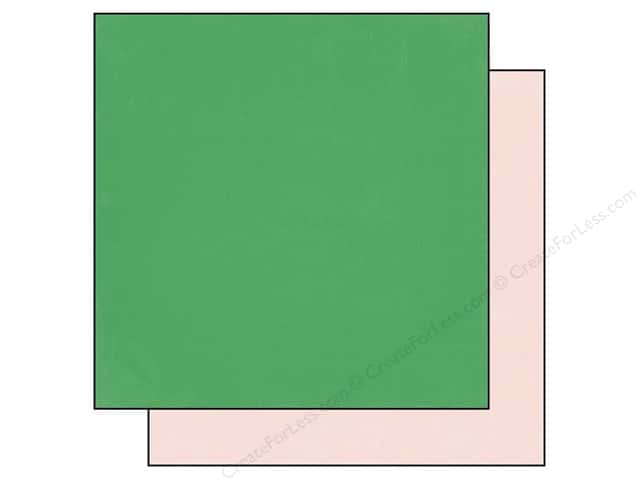 Echo Park 12 x 12 in. Paper Simple Life Green/Pink (25 sheets)