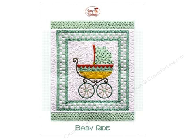 Cherry Blossoms Quilting Baby Ride Pattern
