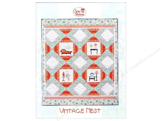 Cherry Blossoms Quilting Vintage Nest Pattern
