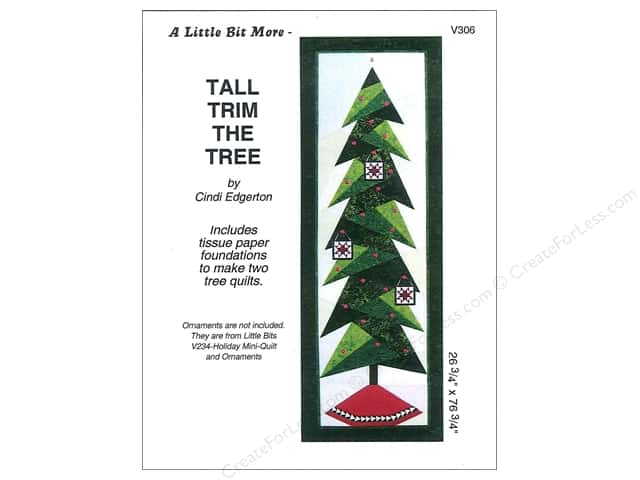 A Very Special Collection Tall Trim The Tree Pattern