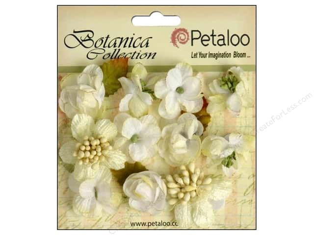 Petaloo Botanica Collection Minis White