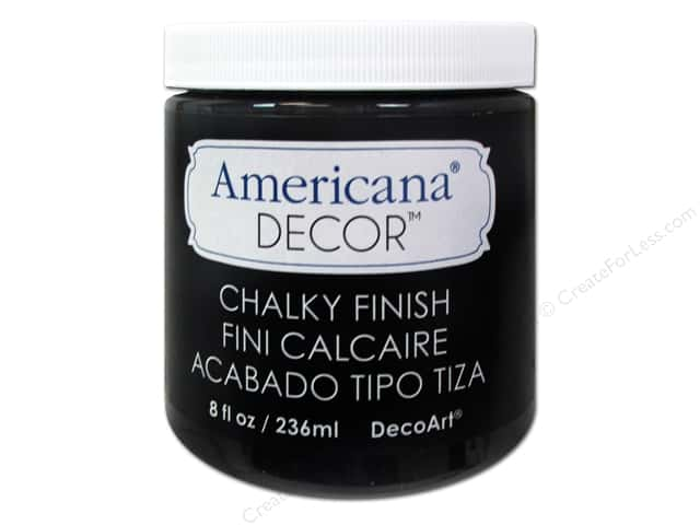 DecoArt Americana Decor Chalky Finish 8 oz. Carbon