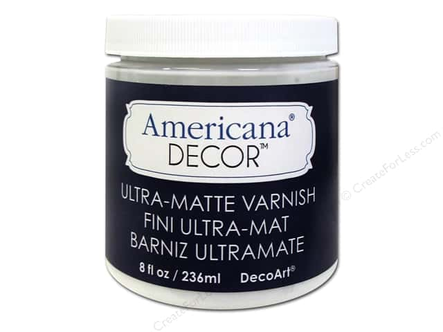 DecoArt Americana Decor Varnish 8 oz. Ultra-Matte