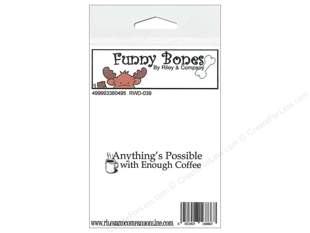 Riley & Company Cling Stamps Funny Bones Anything's Possible