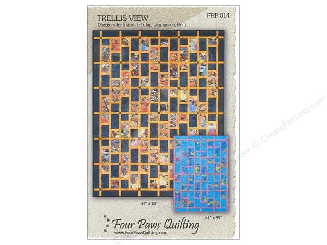 Four Paws Quilting Trellis View Pattern