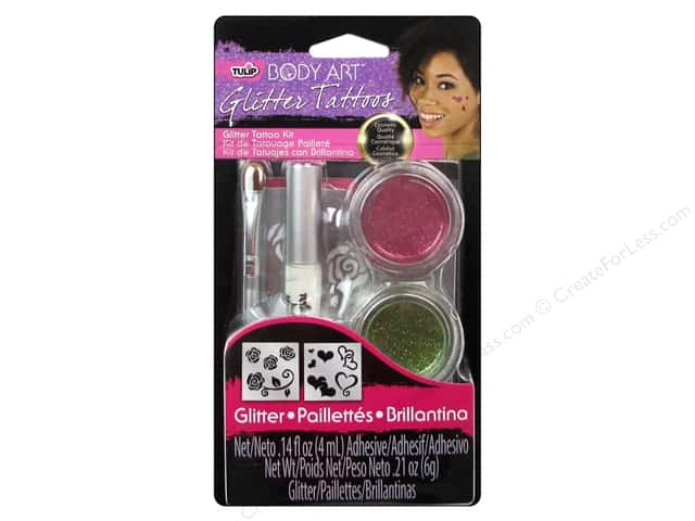 Tulip Body Art Tattoo Kit Small Pink