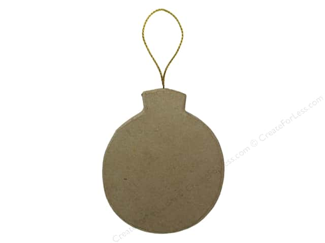 Paper Mache Flat Balloon Ornament by Craft Pedlars