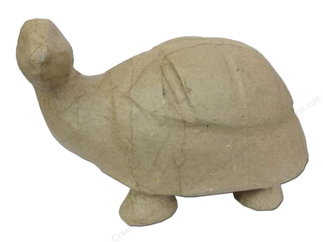 Paper Mache Turtle 5 in. by Craft Pedlars