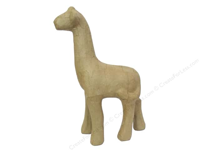 Paper Mache Giraffe 11 in. by Craft Pedlars