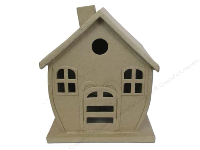 Paper Mache Gingerbread House 9 in. by Craft Pedlars