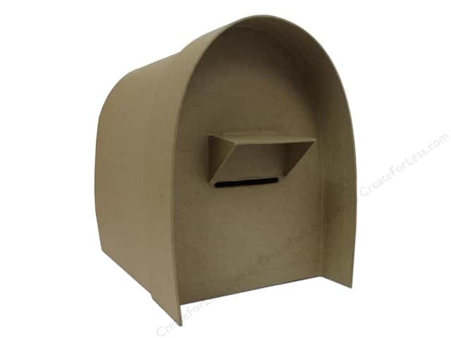 Paper Mache Mailbox 11 in. by Craft Pedlars