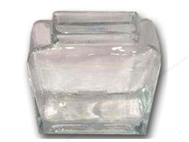 Sierra Pacific Crafts Decor Glass Vase Rectangle