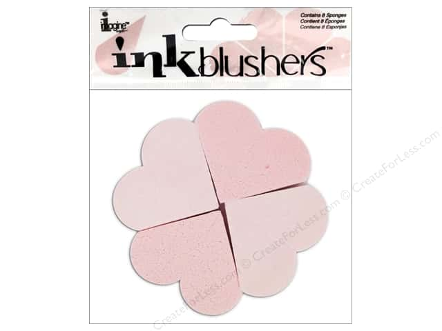 Imagine Crafts Ink Blushers Craft Sponge 8 pc.