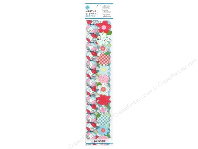 Martha Stewart Adhesive Border Stitched Die Cut