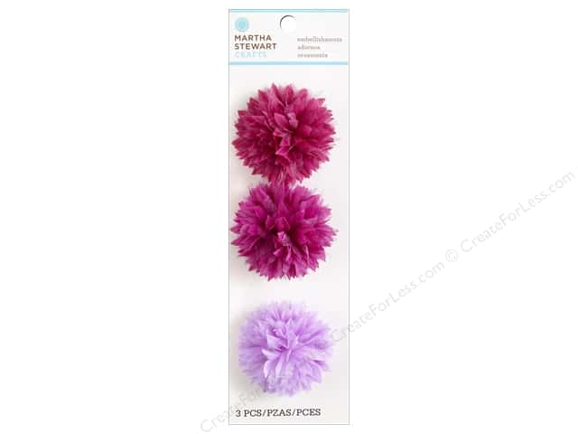 Martha Stewart Sticker Fabric Chrysanthemum
