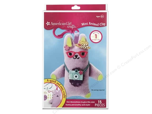American Girl Kit Mini Animal Clip Bunny