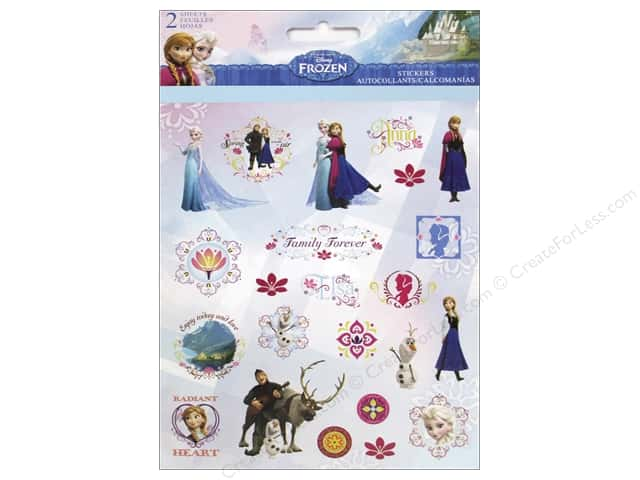 SandyLion Sticker Foldover Disney Frozen