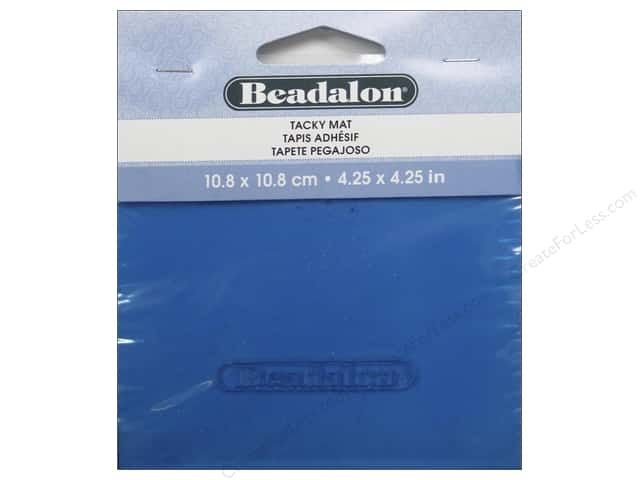 Beadalon Tacky Bead Mat 4 1/4 x 4 1/4 in.