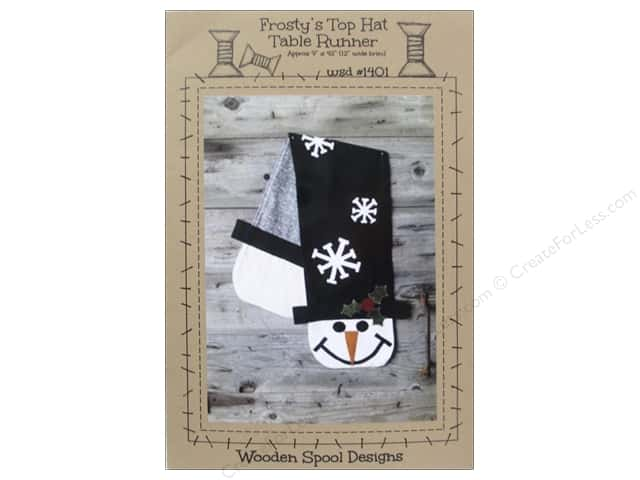 Wooden Spool Designs Frosty's Top Hat Pattern