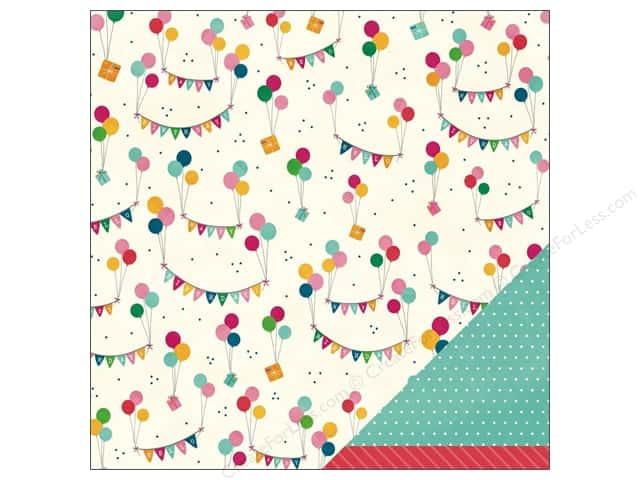Pebbles 12 x 12 in. Paper Birthday Wishes Just For You (25 sheets)