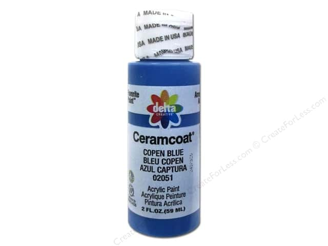 Ceramcoat Acrylic Paint by Delta 2 oz. #2051 Copen Blue