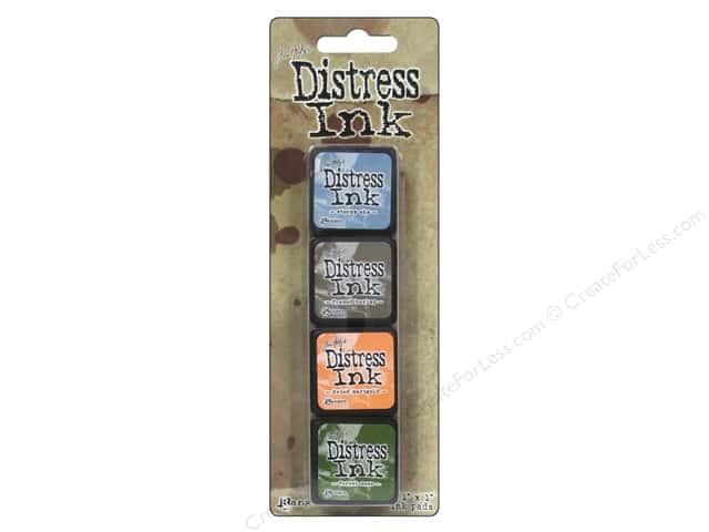 Ranger Tim Holtz Distress Mini Ink Pad Kit #9 4 pc.