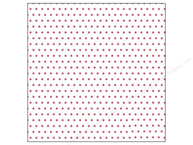 Crate Paper 12 x 12 in. Paper Oh Darling Vellum Dots (25 sheets)