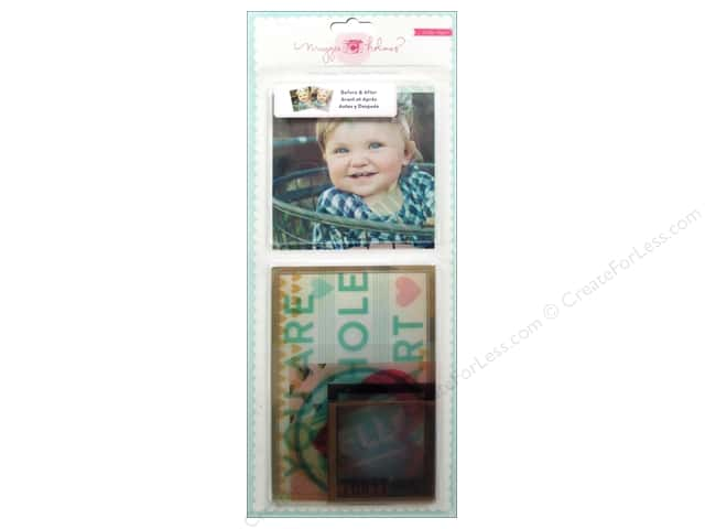Crate Paper Embellishments Maggie Holmes Styleboard Photo Overlays