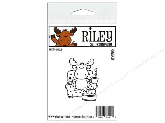 Riley & Company Cling Stamps Coffee